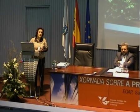 Isabel García Eiroa. Subdirectora da Axencia de Protección da Legalidade Urbanística - Xornada sobre a Protección da Legalidade Urbanística